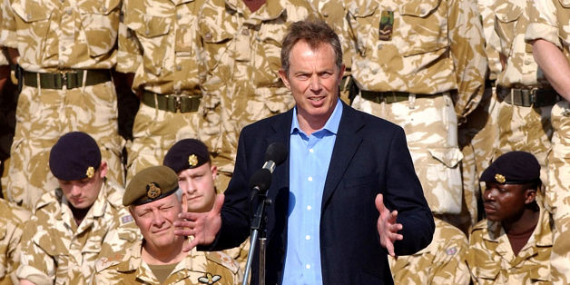 File photo dated 04/01/04 of Tony Blair addressing British troops on a visit to Basra, Iraq, as the long-awaited report into the Iraq war should finally be ready for publication by July next year, Sir John Chilcot has said.
