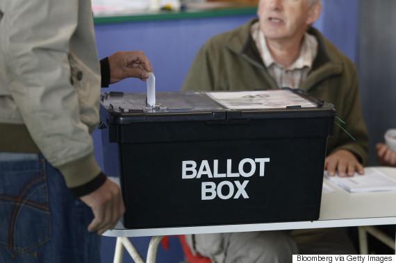 ballot box may