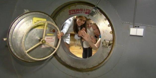 Russische Forscher Frauen Weltraum