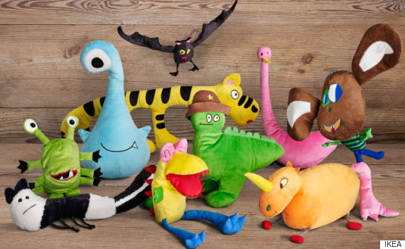 ikea soft toys