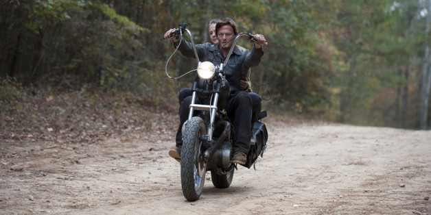 Norman Reedus kommt von den Motorrädern nicht mehr weg.