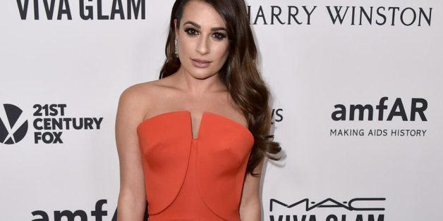 Lea Michele trägt den Look des Tages
