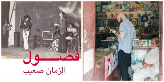"""Un label allemand ressuscite le """"James Brown"""" marocain (à droite, le DJ berlinois Jannis Stürtz)"""