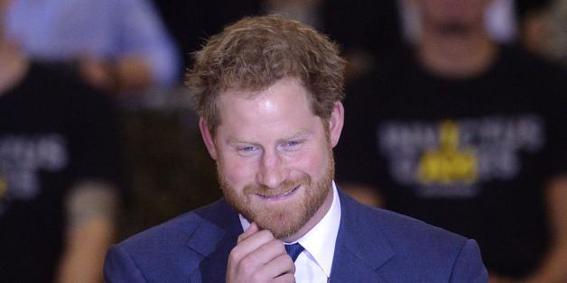 Prinz Harry ist zu Tränen gerührt