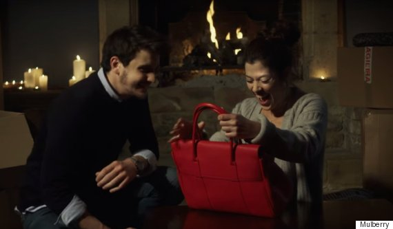 mulberry christmas ad
