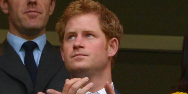 Prinz Harry zeigt sich von seiner besten Seite.