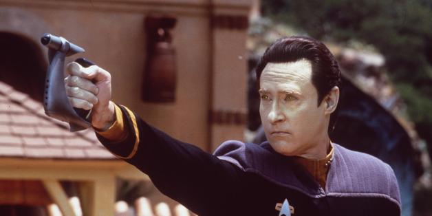 """Brent Spiner als """"Data"""" in """"Start Trek"""" 1998"""