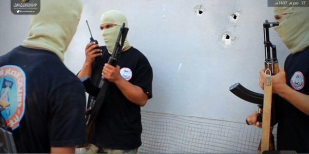 Photo d'un camp d'entrainement à Derna diffusée sur twitter