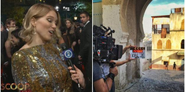 """Léa Seydoux: """"J'ai adoré tourner dans la ville de Tanger"""""""