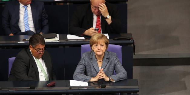 Vizekanzler Gabriel, Kanzlerin Merkel