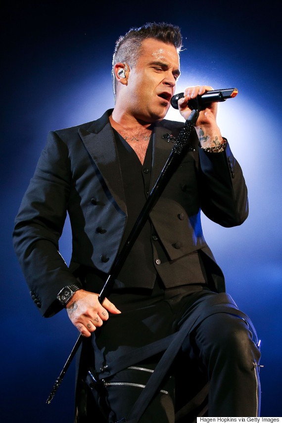 robbie williams wellington