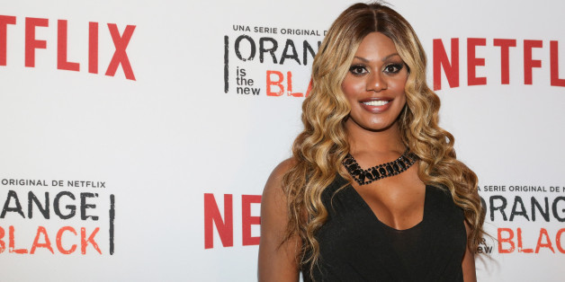 Actress Laverne Cox, star of Orange Is The New Black