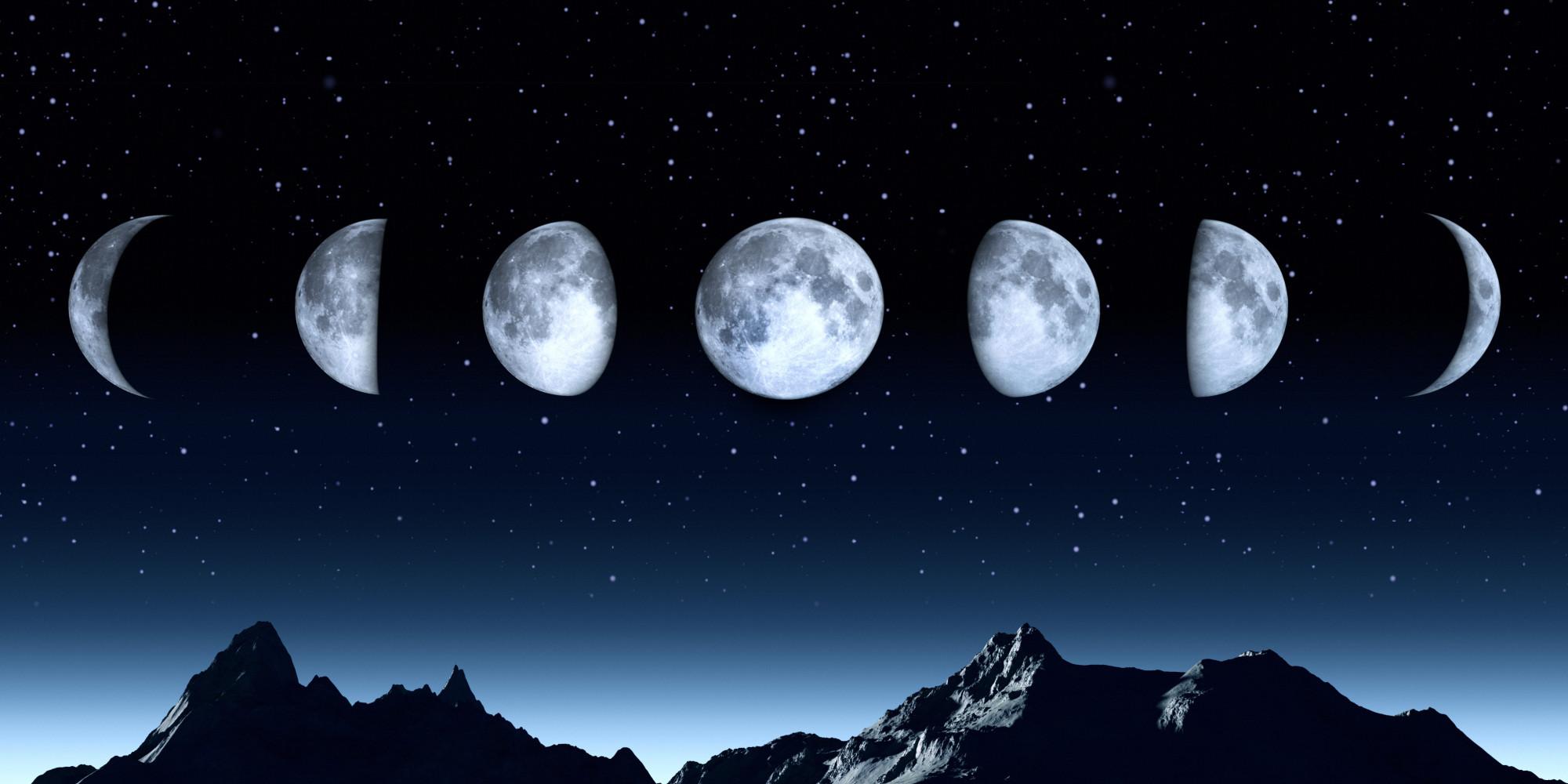 C mo aprovechar la influencia de cada fase de la luna for En que luna estamos