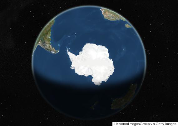 antarctica satellite