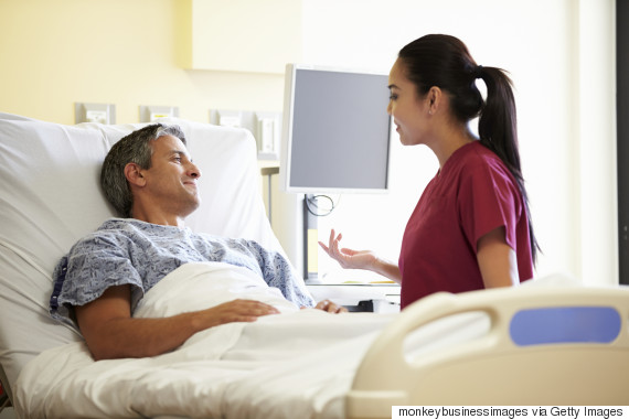 man 40s hospital