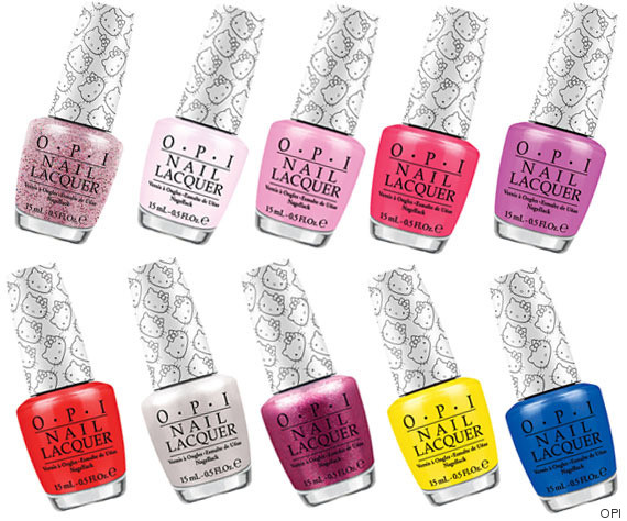 opi hello kitty colletion