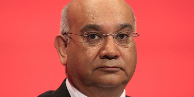 Keith Vaz sits on the stage during the second day of the Labour Party conference in the Brighton Centre in Brighton, Sussex.