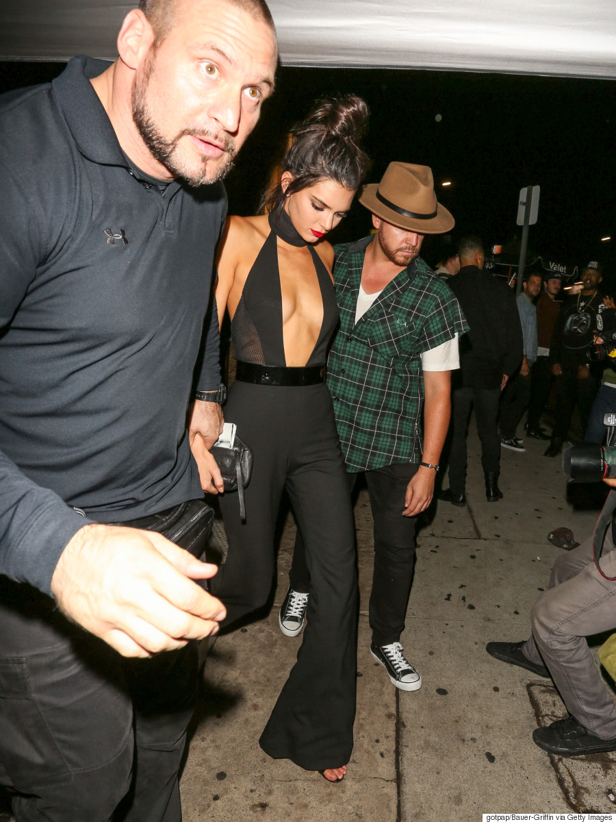 Kendall Jenners Birthday Jumpsuit Leaves Little To The Imagination