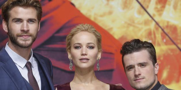 Jennifer Lawrence lässt tief blicken.