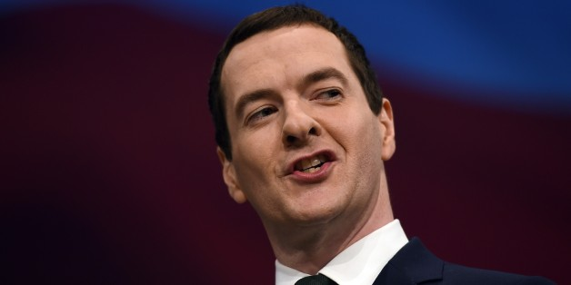 British Chancellor of the Exchequer George Osborne delivers his keynote address to delegates on the second day of the annual Conservative party conference in Manchester, north west England, on October 5, 2015. AFP PHOTO / PAUL ELLIS        (Photo credit should read PAUL ELLIS/AFP/Getty Images)