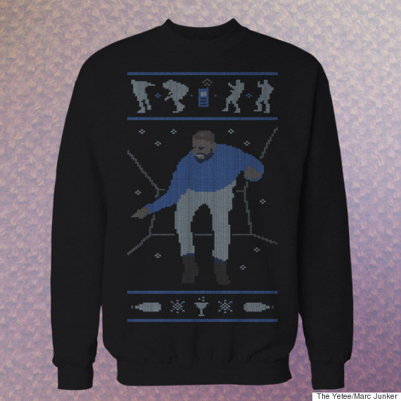 drake hotline bling christmas jumper