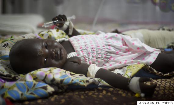 south sudan baby
