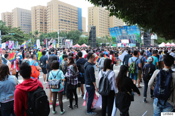 taiwan pride parade meeting place