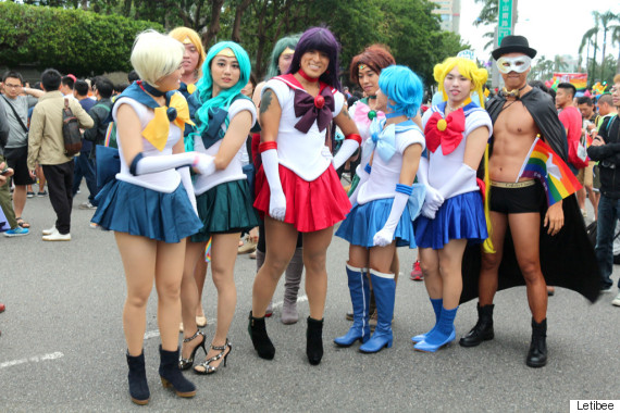 taiwan lgbt pride sailor moon