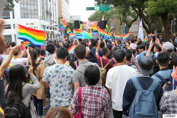 taiwan lgbt pride participant