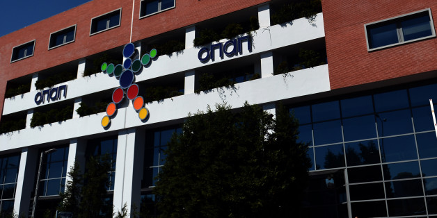 A view of the OPAP building, Greece's state lottery monopoly in Athens on September 21, 2012. Greece on September 19 scrapped tax perks for state-controlled betting agency Opap, which is among the companies to be privatised under a deal with the country's international lenders. Opap, which used to operate tax-free, would now have to pay taxes at a rate of '30 to 35 percent on gross profits until 2020', the finance ministry said in a statement. AFP PHOTO / ARIS MESSINIS        (Photo credit should read ARIS MESSINIS/AFP/GettyImages)