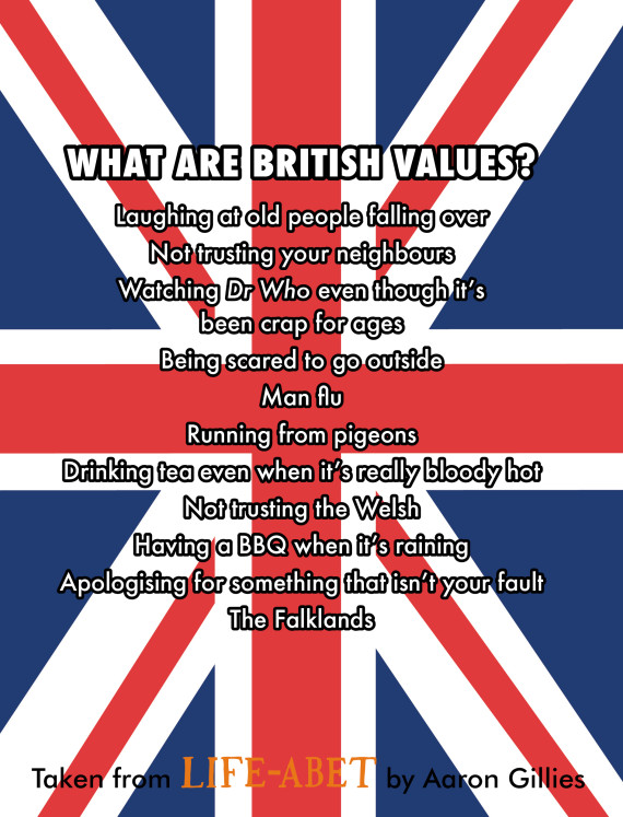 aaron gillies british values technically ron