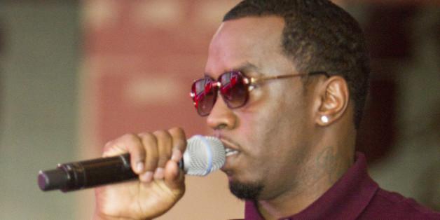 P.Diddy wurde von Naomi Campbell überrascht.