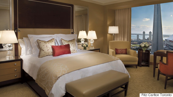 ritz hotel room