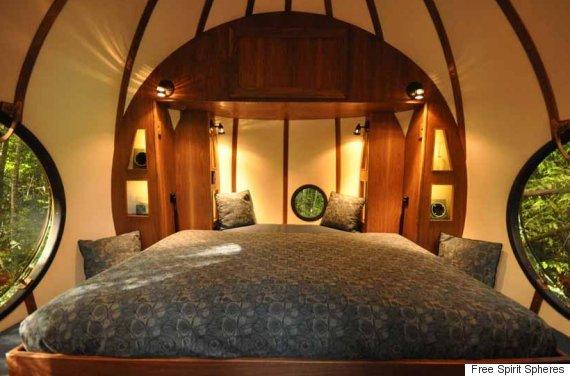 free spirit spheres bed