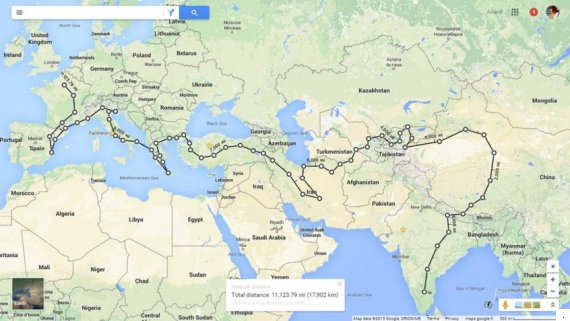 This Familys 111Day Road Trip From Bengaluru To Paris Will Make