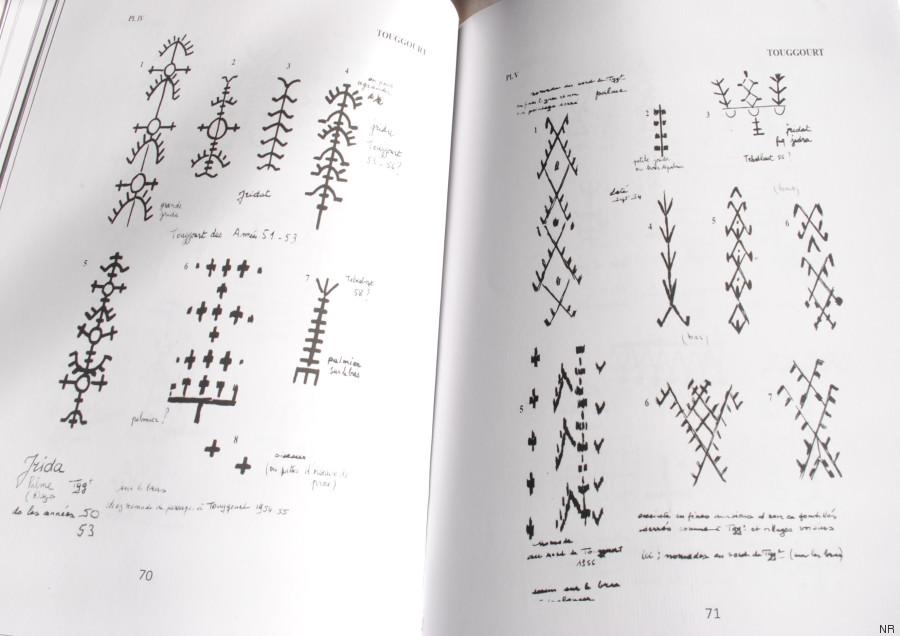 petit manuel de lecture des tatouages berbères dans les aurès et le