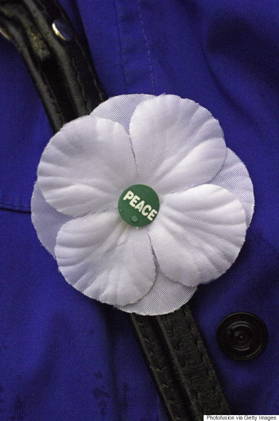 white poppy peace
