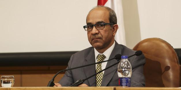 Le chef égyptien de l'équipe des enquêteurs, Ayman el-Mokaddem,