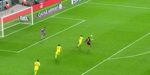 VIDÉO. Le but d'anthologie de Neymar lors de Barça-Villarreal