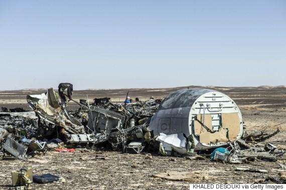 sinai plane crash debris