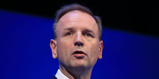 Simon Stevens, CEO for NHS England, speaks during the Institute of Directors convention at the Royal Albert Hall, London.