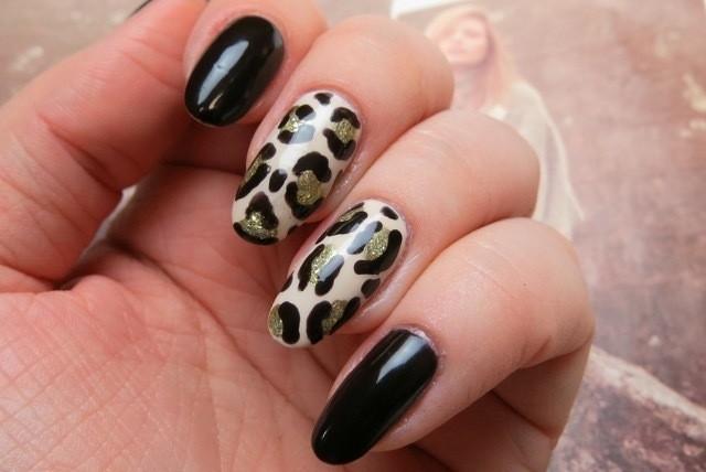 Mani Monday Diy Vampy Leopard Print Nail Art Huffpost Canada