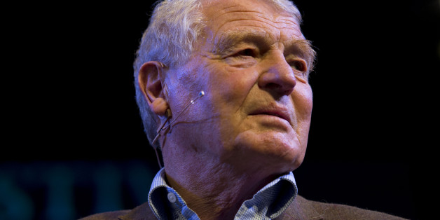 HAY-ON-WYE, WALES - MAY 28:  Former Liberal Democrat leader Lord Ashdown speaks during the Hay Festival on May 28, 2014 in Hay-on-Wye, Wales. The Hay Festival is an annual festival of literature and arts which began in 1988.  (Photo by Matthew Horwood/Getty Images)