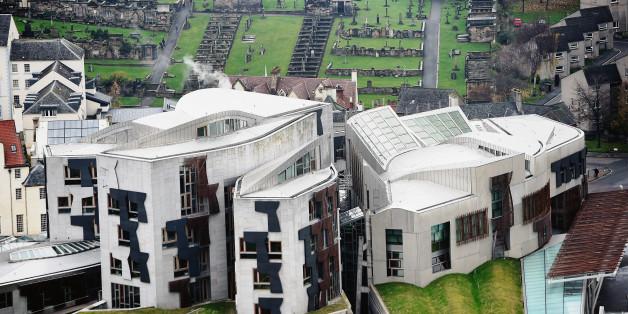 The Scottish Parliament in Edinburgh