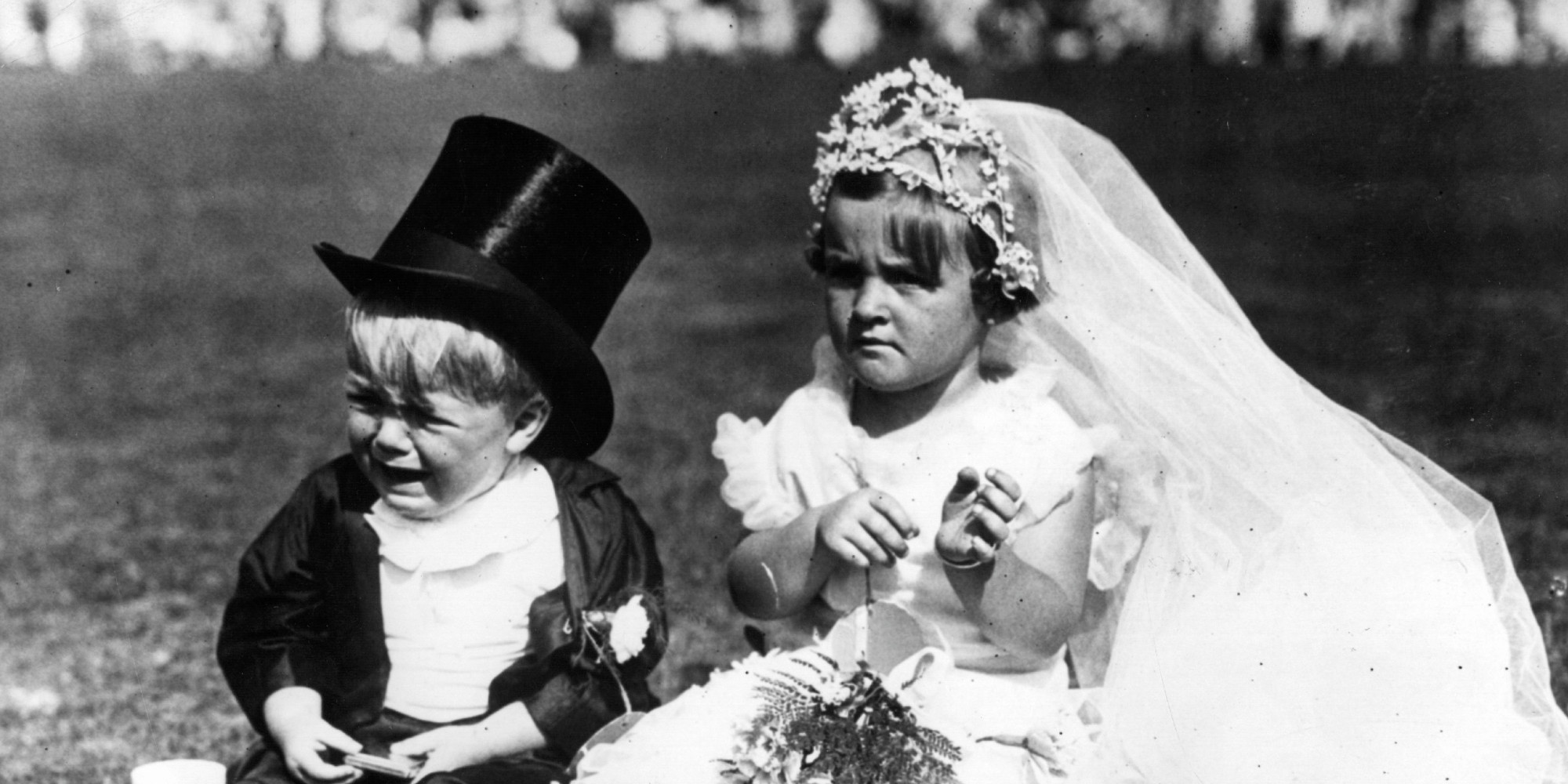 Image result for kids crying at weddings