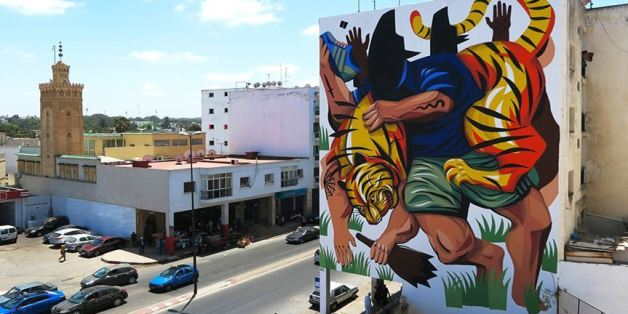 Rabat: La fresque du street-artiste JAZ classée parmi les plus belles du monde