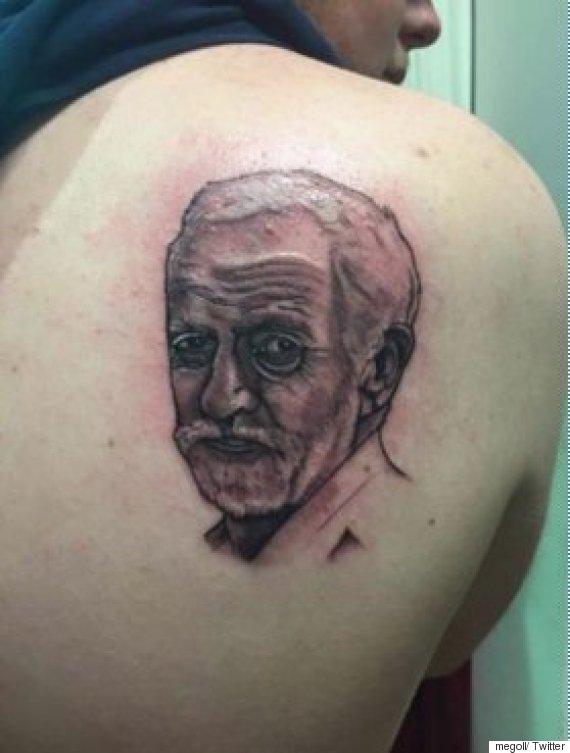 jeremy corbyn tattoo