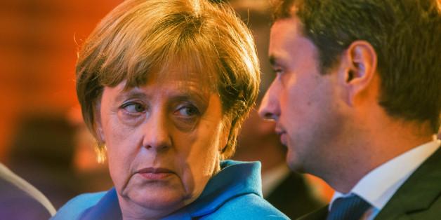 Angela Merkel sackt in den Umfragen weiter ab
