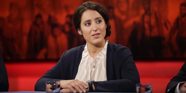 "Polizistin Tania Kambouri bei ""Hart aber fair"""