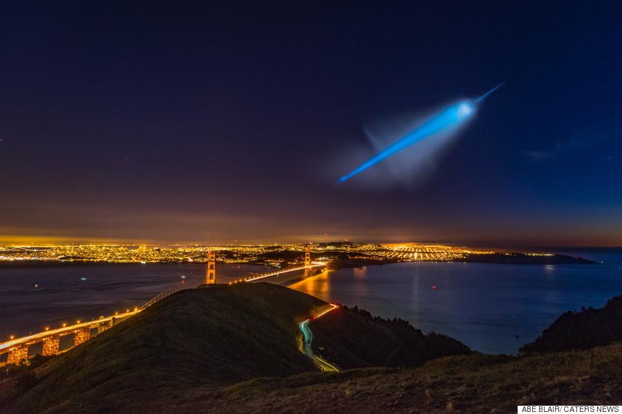 ufo navy missile test